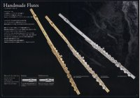 パウエルフルート powellflute Handmade Flute Soldered Tone Holes Sterling Silver C Foot